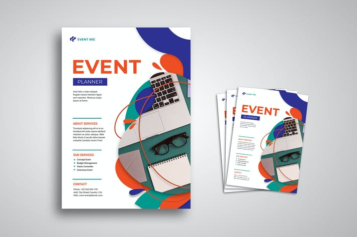 Cover Image For Event Flyer Promo Template