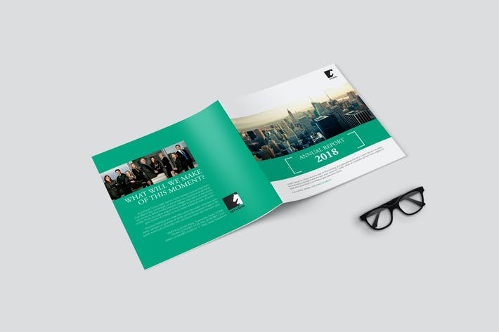 Thumbnail for Square Corporate Brochure / Annual Report
