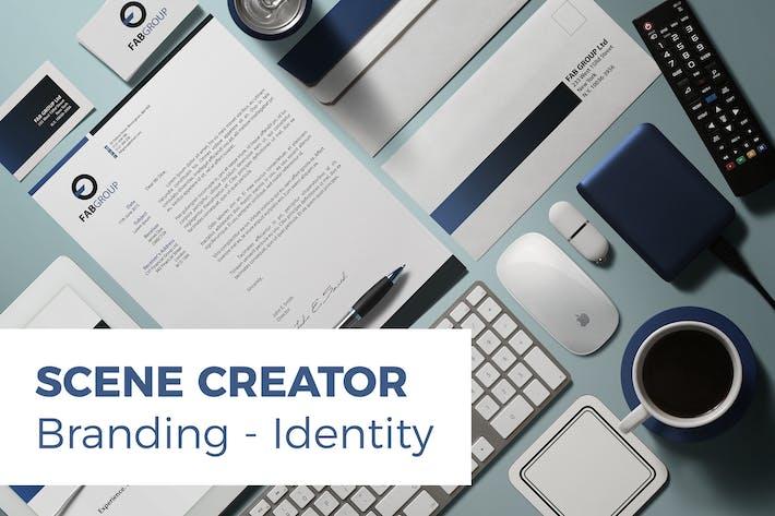 Thumbnail for Branding / Identity Scene Creator
