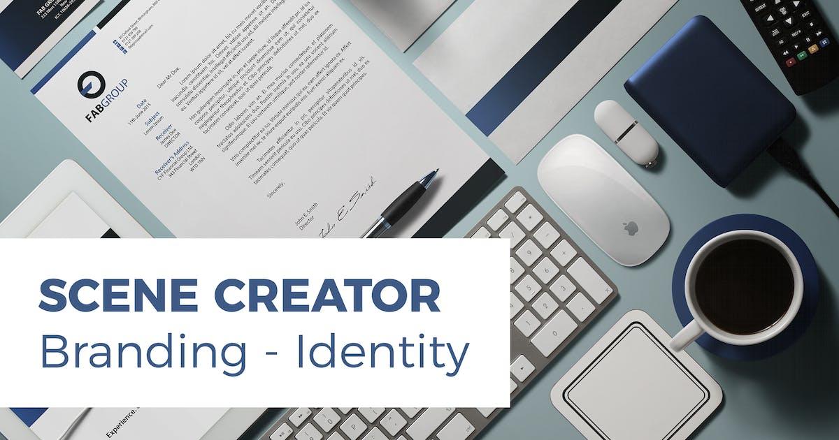 Download Branding / Identity Scene Creator by vasaki