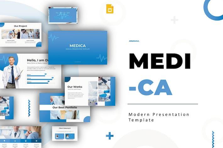 Thumbnail for Медика - Шаблон слайдов Google