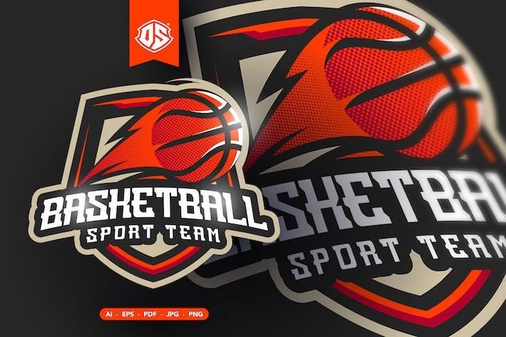 Basketball - Esport and Sport Mascot Logo