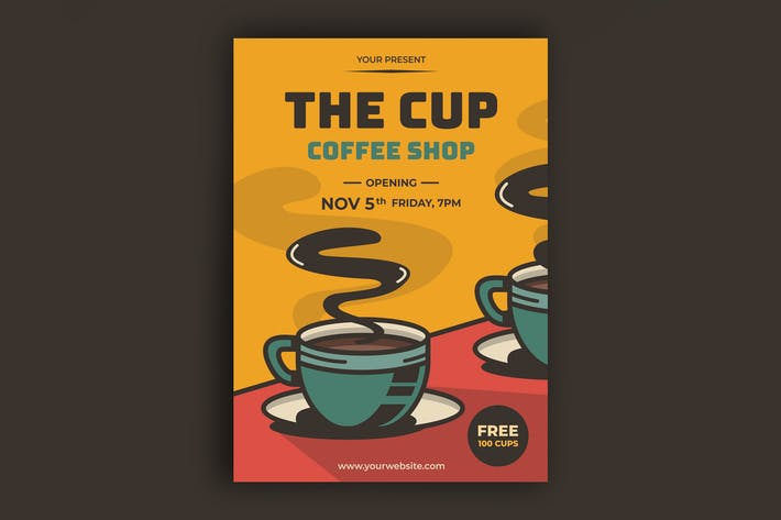 Kaffee-Poster