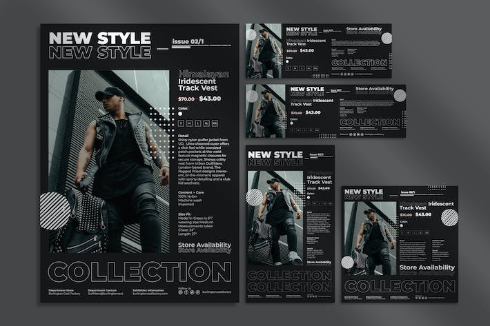 Thumbnail for Urban Style Flyer and Social Media Pack Template