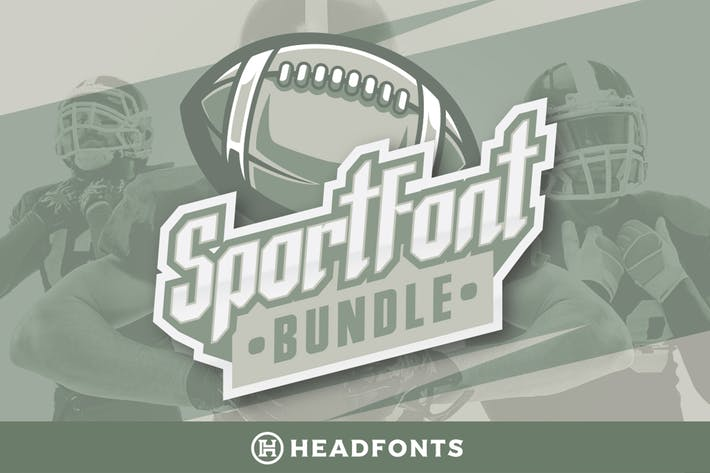 Thumbnail for Sport Font Bundle Modern Paired Duo