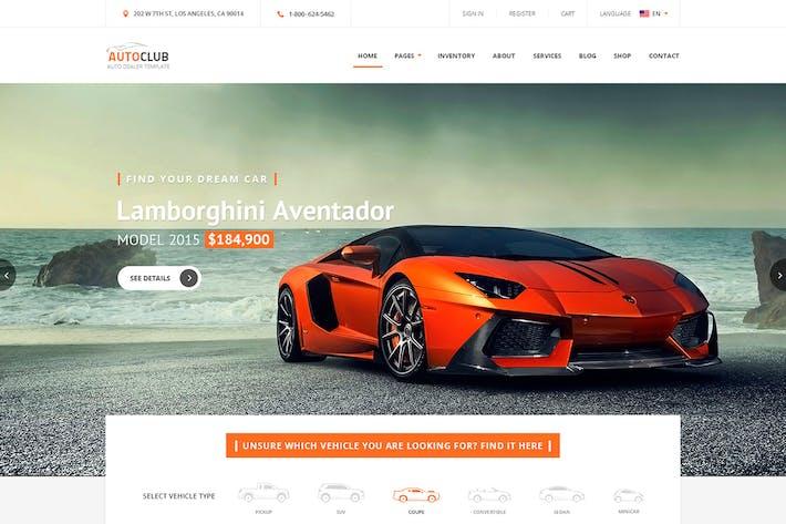 download 27 car website templates envato elements