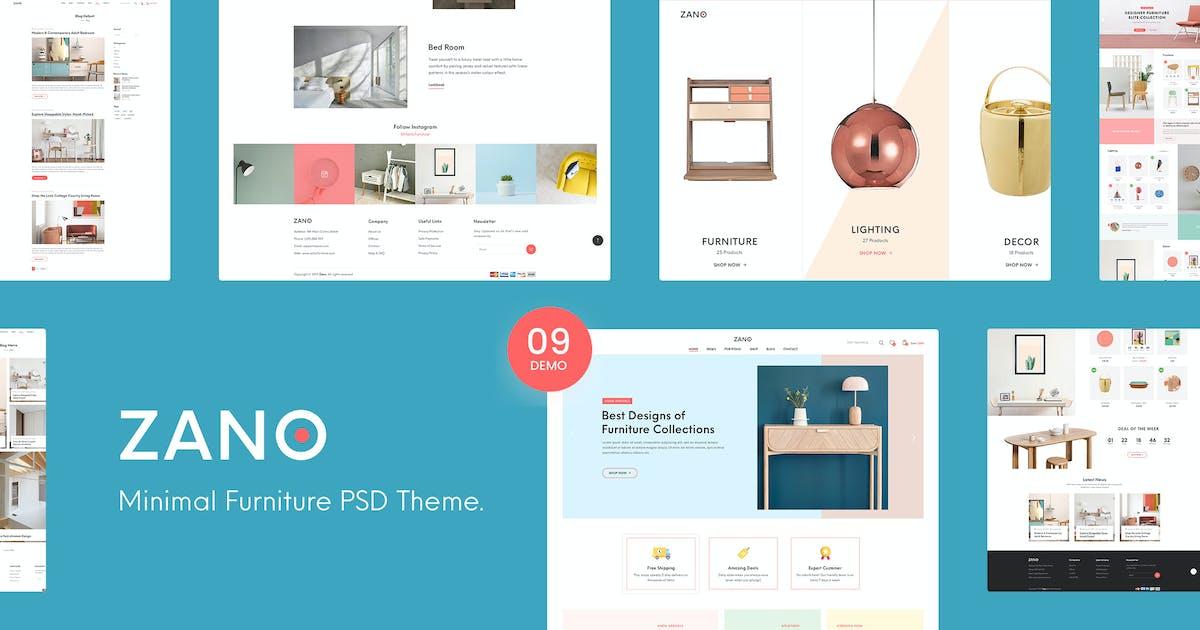 Download Zano   Furniture eCommerce PSD Template by Leonard_Design