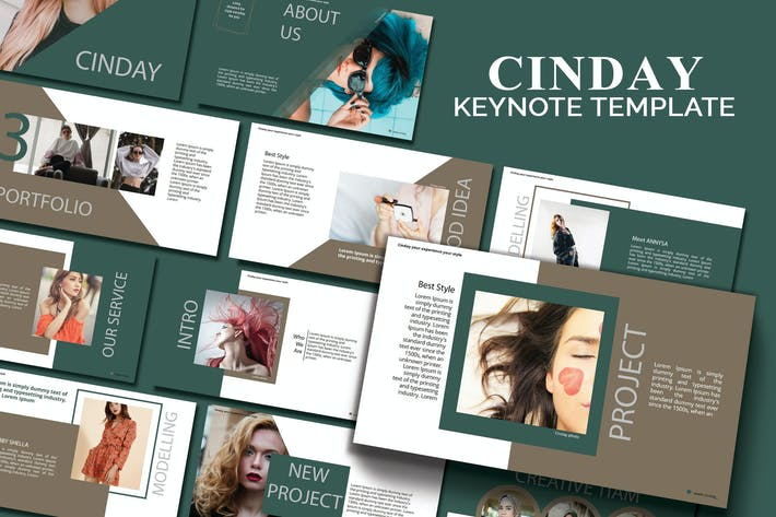 Thumbnail for CINDAY - Шаблон Keynote