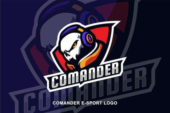 Thumbnail for Commander E sport logo