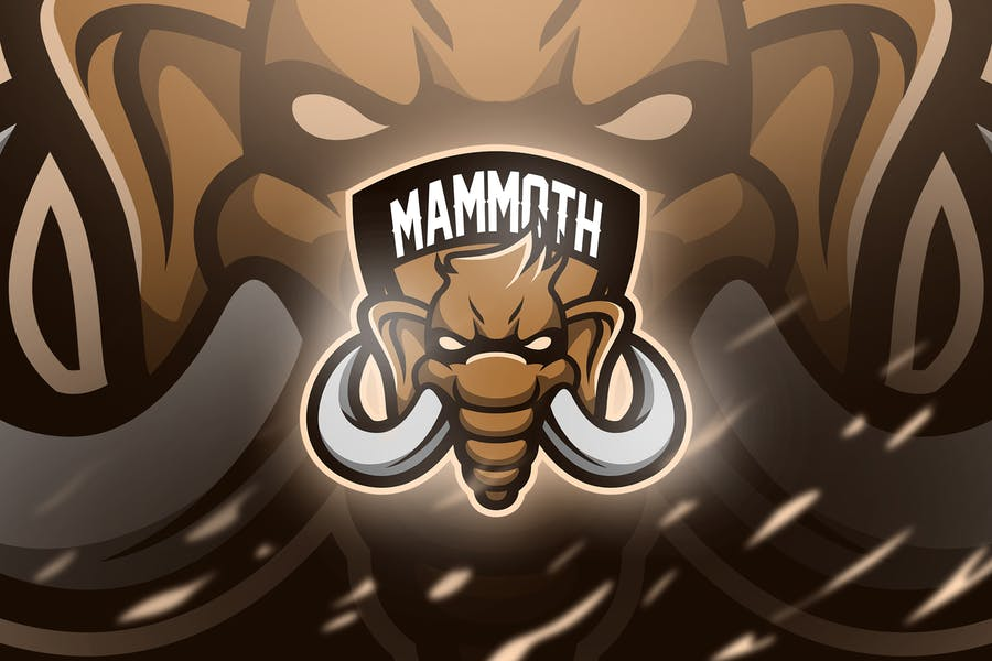 Mammoth - Mascot & Esport Logo - product preview 0