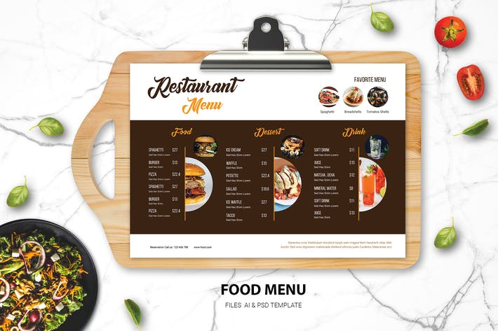Thumbnail for Food Menu