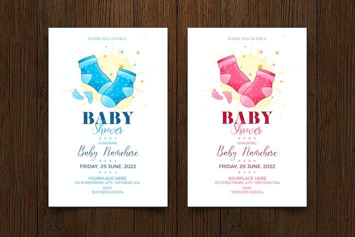 Thumbnail for Baby Shower Invitation