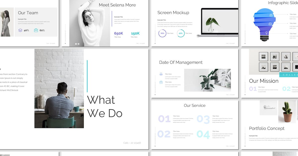 Download Cure - Powerpoint Template by inspirasign