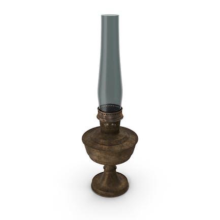 Lámpara de manto sucio