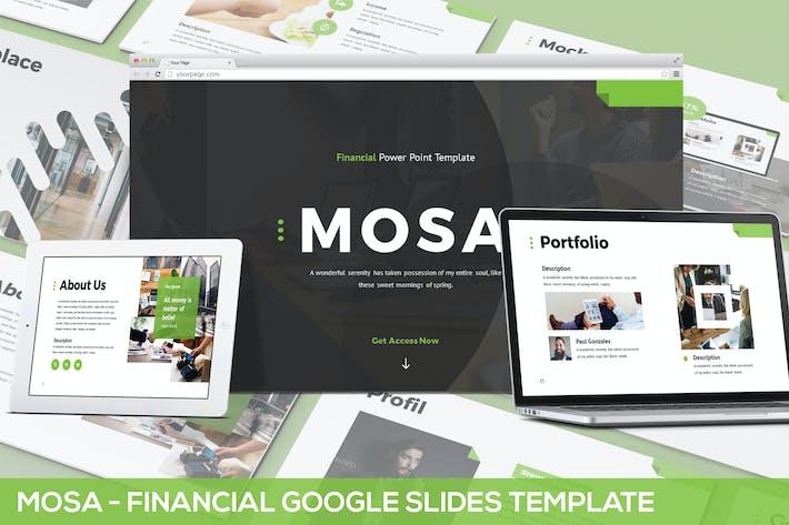Thumbnail for Mosa - Financial Google Slides Template