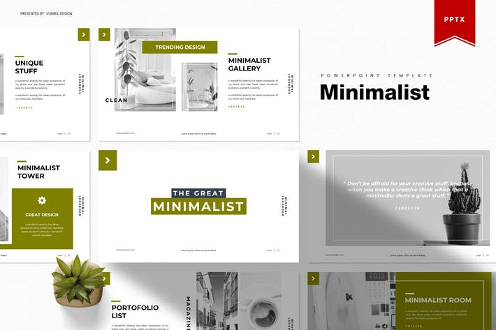 Thumbnail for Minimalist | Powerpoint Template