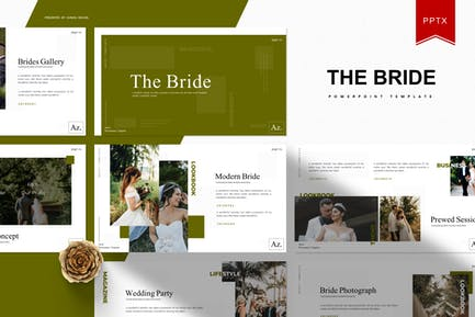 The Bride | Powerpoint Template