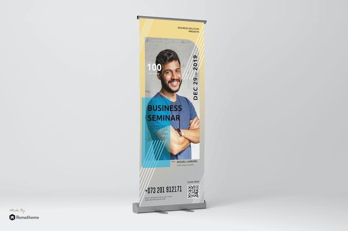 Thumbnail for Motivator - Business Speaker Roll-up Banner RY