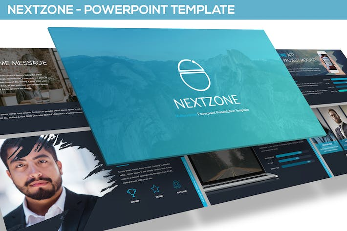 Thumbnail for NEXTZONE - POWERPOINT TEMPLATE
