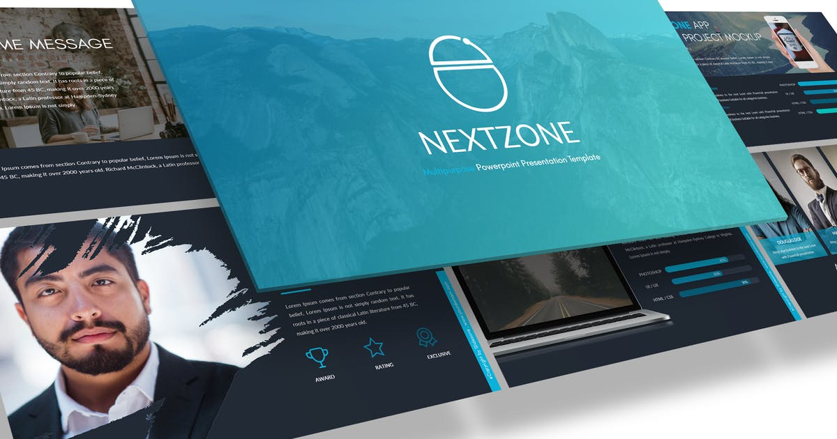 Download NEXTZONE - POWERPOINT TEMPLATE by inspirasign