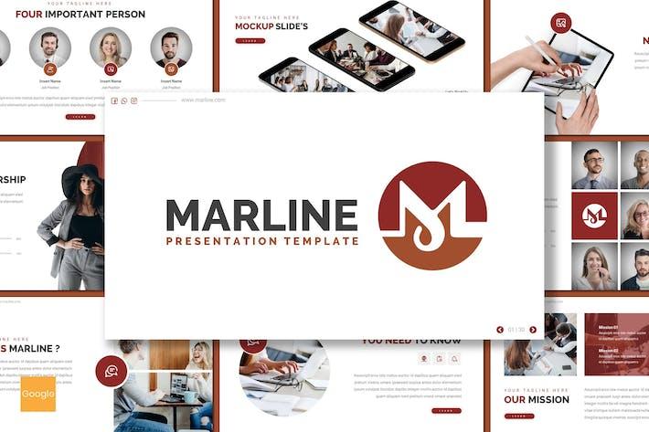 Thumbnail for Marline - Business Google Slides Template