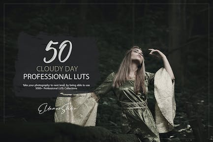 50 Cloudy Day LUTs Pack