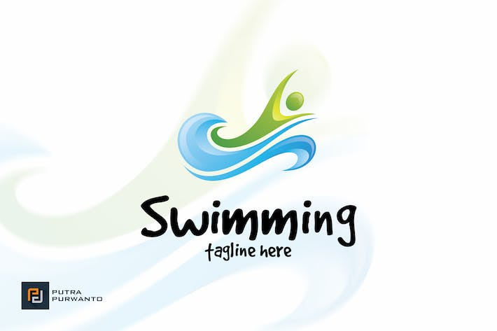 Thumbnail for Swimming - Logo Template