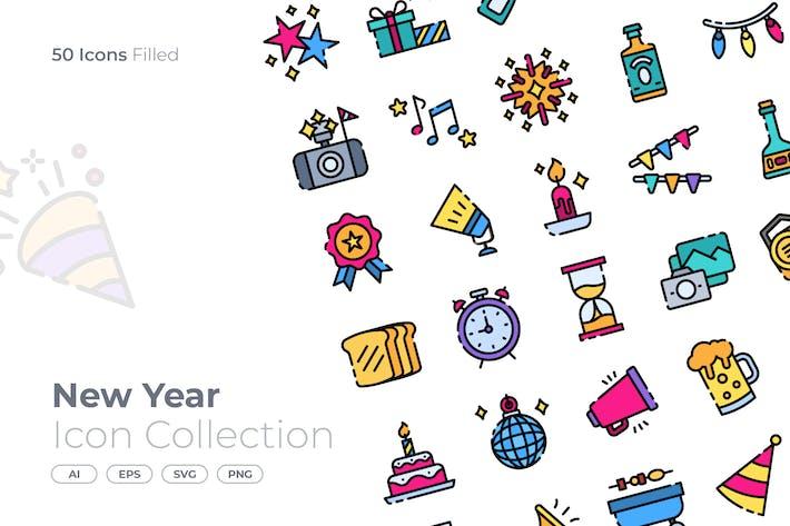 Thumbnail for Новогодняя иконка