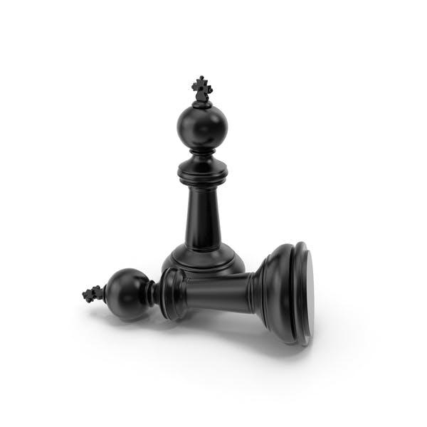Chess King Black