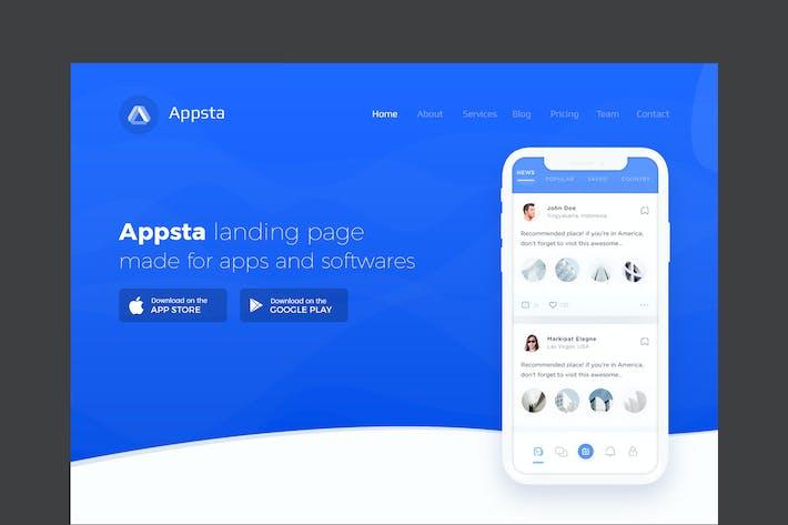 Appsta - Creative App Slider