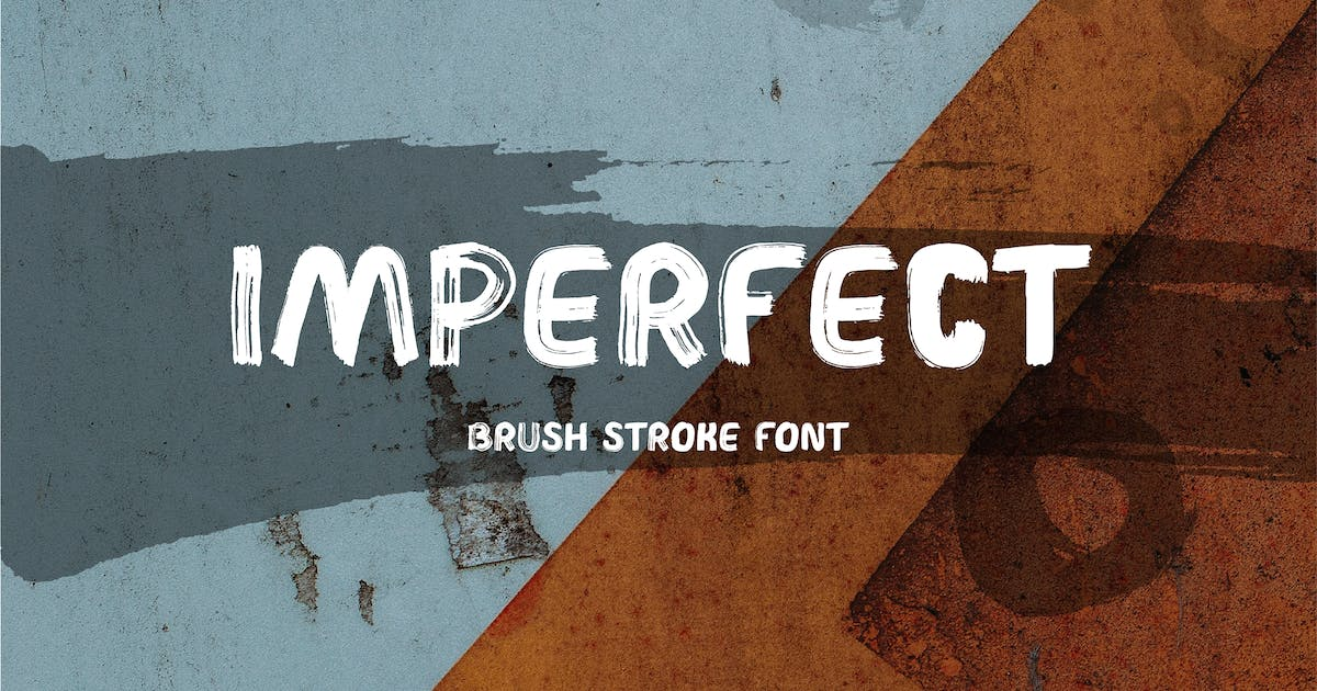 Download Imperfect Brush Font by WildOnes