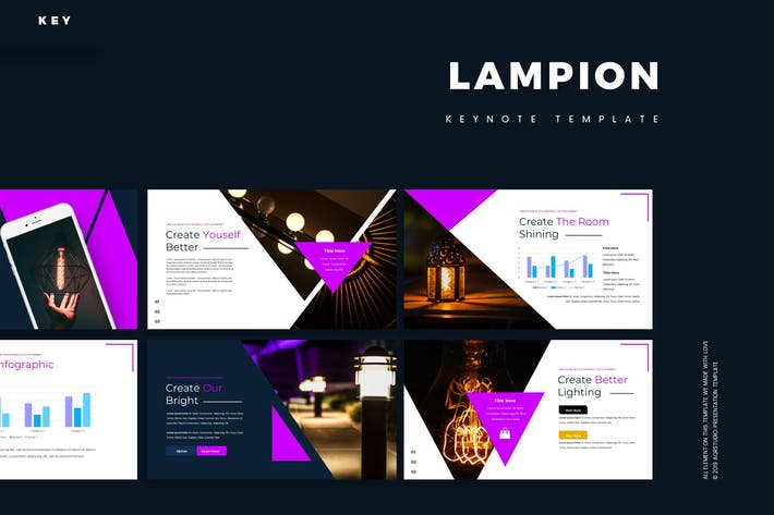 Thumbnail for Lampion - Keynote Template