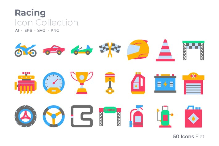 Thumbnail for Racing Color Icon