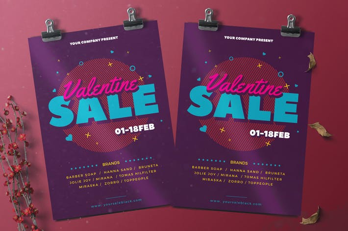 Thumbnail for Valentine Sale Flyer