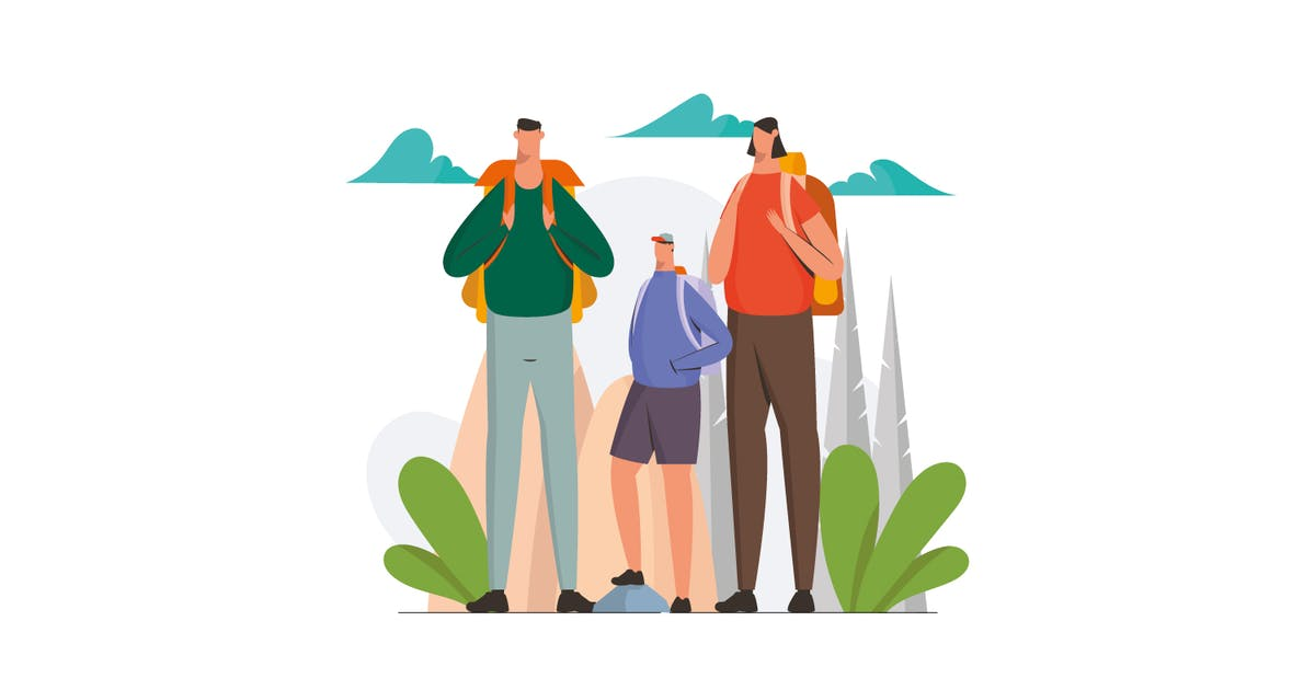 Download Family Trip Illustration by visuelcolonie