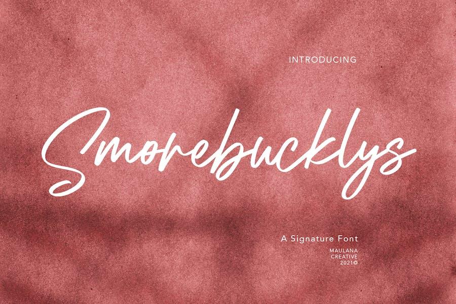 Fuente Signature Smorebucklys