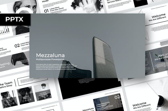 Cover Image For Mezzaluna Powerpoint