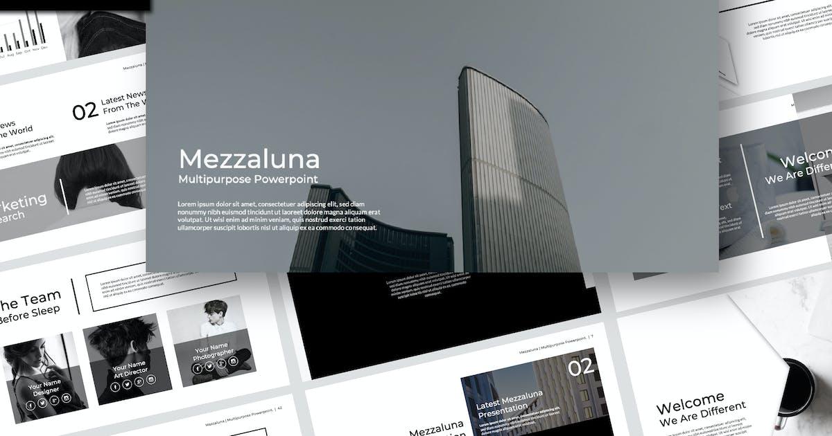Download Mezzaluna Powerpoint by templatehere