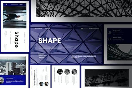 Shape - Business Presentation PowerPoint Template