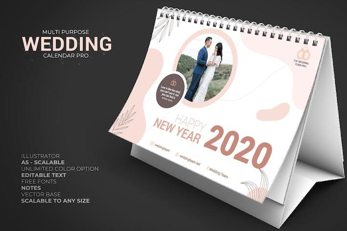 Thumbnail for 2020 Wedding - Calendar Desk Pro