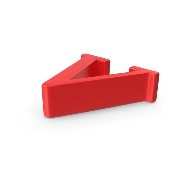 Red Small Letter V