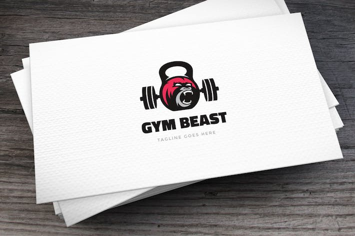 Thumbnail for Gym Beast Logo Template