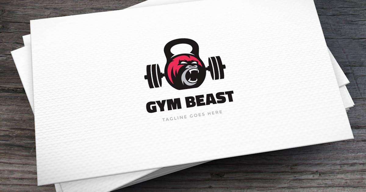 Gym Beast Logo Template by empativo
