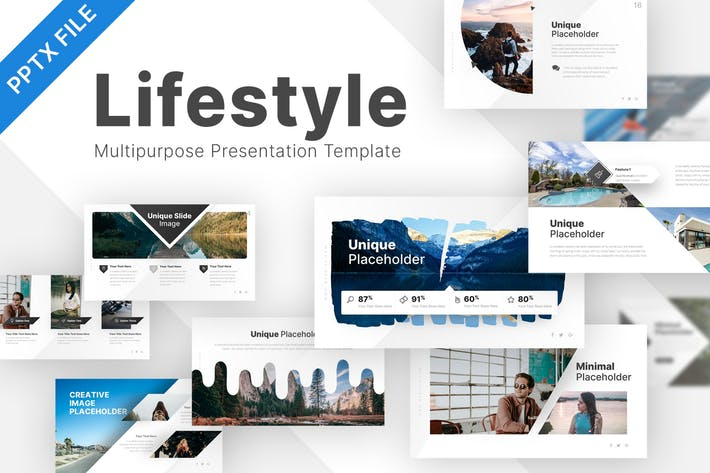 Thumbnail for Lifestyle Mehrzweck-Powerpoint-Vorlage