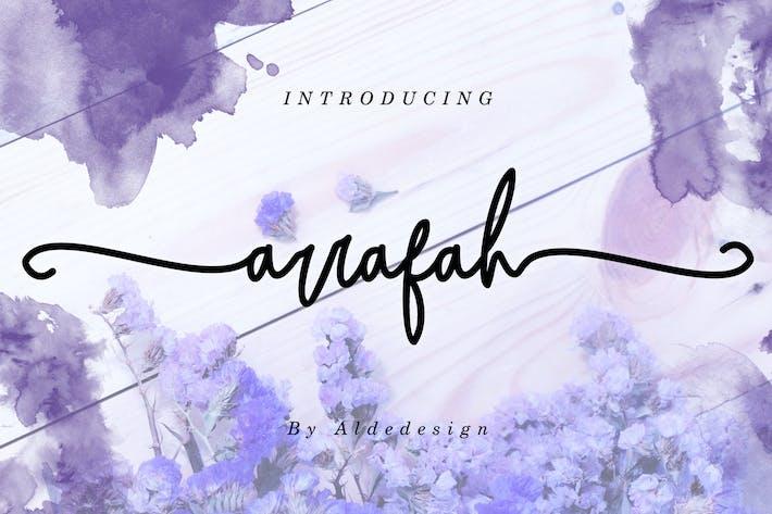 Thumbnail for Script d'Arrafah