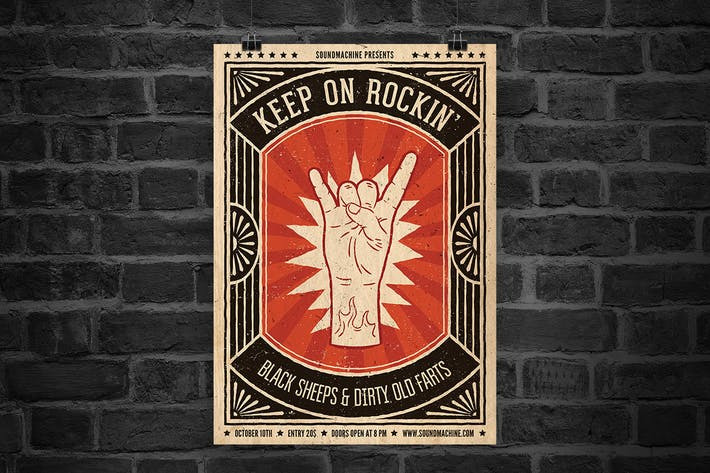Thumbnail for Keep On Rockin' Flyer