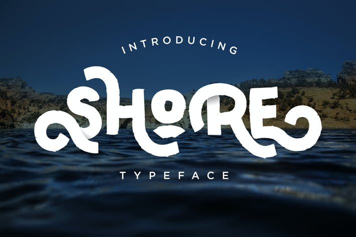 Thumbnail for Shore Typeface