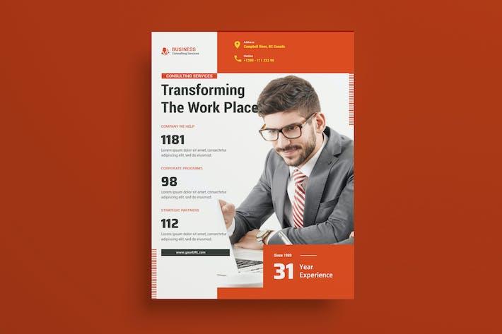 Thumbnail for Business Advisor Flyer