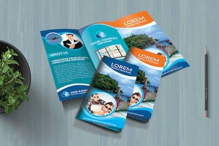 TRAVELING - Multipurpose Trifold Brochure Template