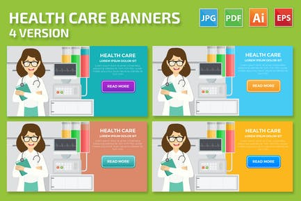 Health Care Banner Design